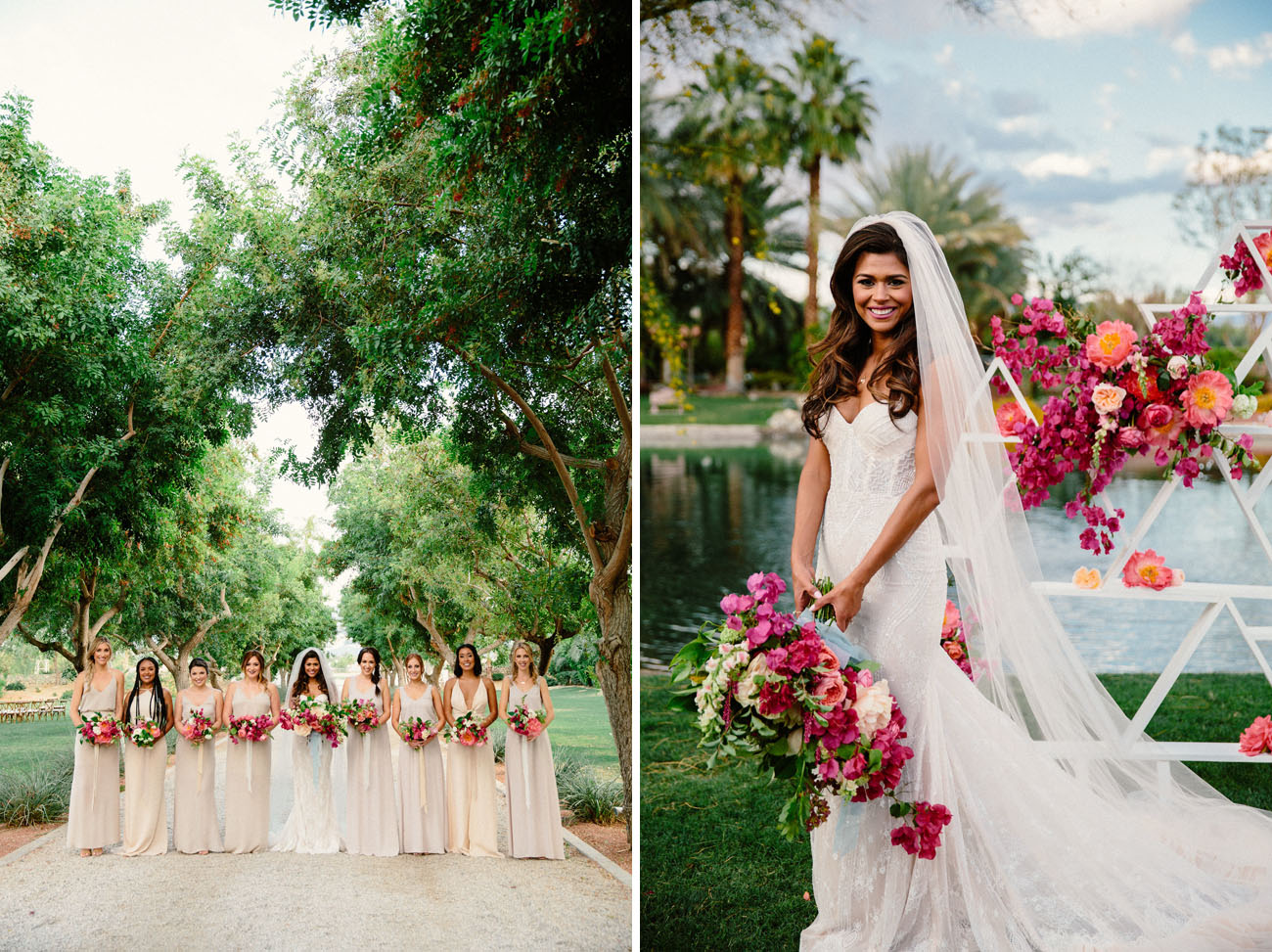 Spanish Desert Wedding
