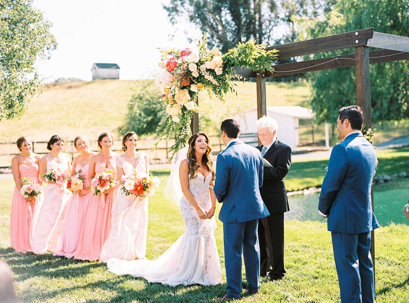 Festival Farm Wedding