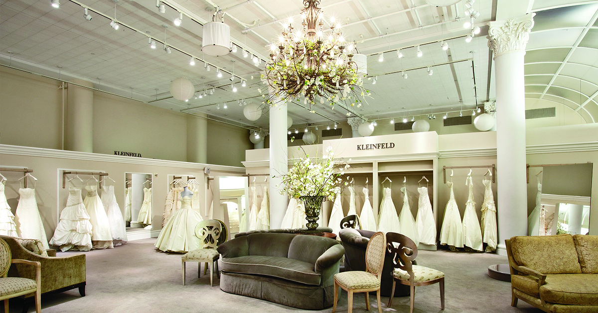 The best bridal salons in the northeastern u s for Wedding salon