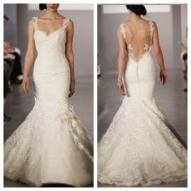Sexy Backless Wedding Dress 2016