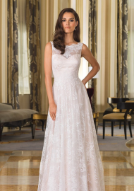 A Great Looking Justin Alexander 2016 winter wedding dress series