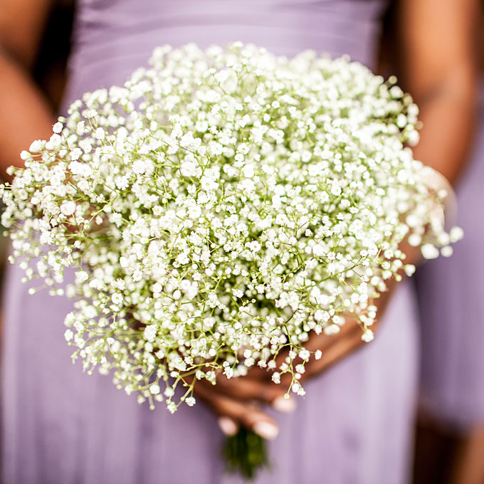 Bouquets for the fantasy weddings strapless wedding dresses bridesmaid bouquet of babys breath 1sffv mightylinksfo Choice Image