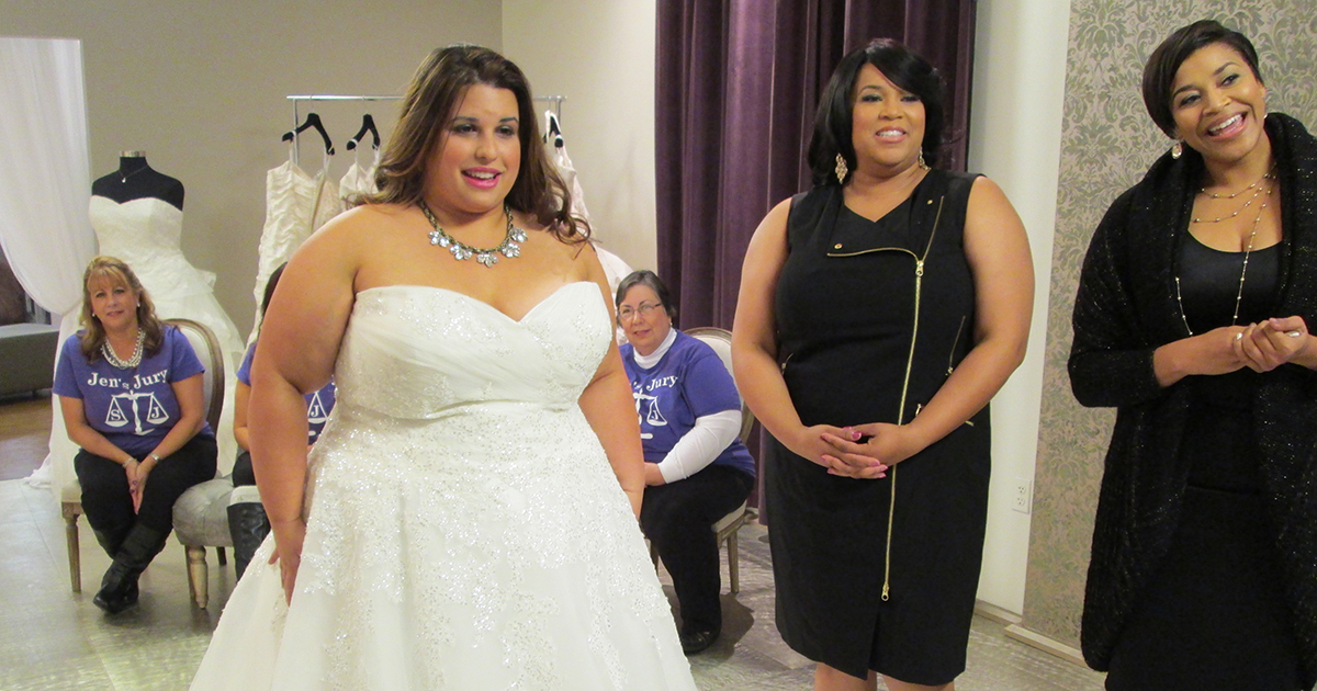 Marchesa S Spring 2016 Wedding Dress Collection Inspiration Tlc Curvy Brides Yukia Walker And Yuneisa Harris On Plus Size Ping