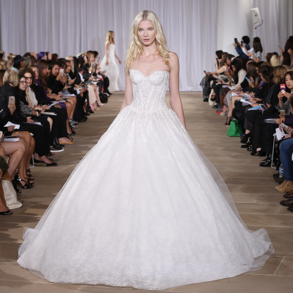 Dream princess gown amongst in Bridal Fashion Week