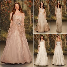 Traditional classic details of Jenny Packham wedding dresses trend in 2016