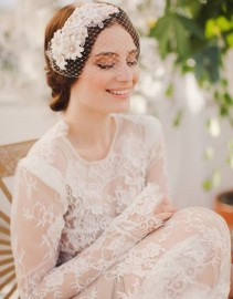 The Beautiful Birdcage Veils For Bride-to-be