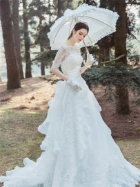 2016 new fashion princess wedding Tiglily-7