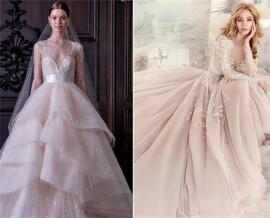 The Fashion Mainstream Wedding Dress with Sleeves for Wedding Choice-8
